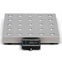 Avery Weigh-Tronix 7885 AWT05-508660 Legal for Trade 18 x 18 Shipping Scale with Ball Top 150 lb x