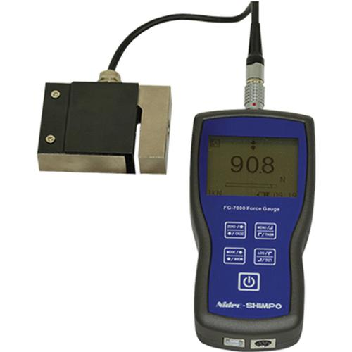 Shimpo FG-7000L-S5 Digital Force Gauge with S-Beam Load Cell 2250 x 0.5 lb