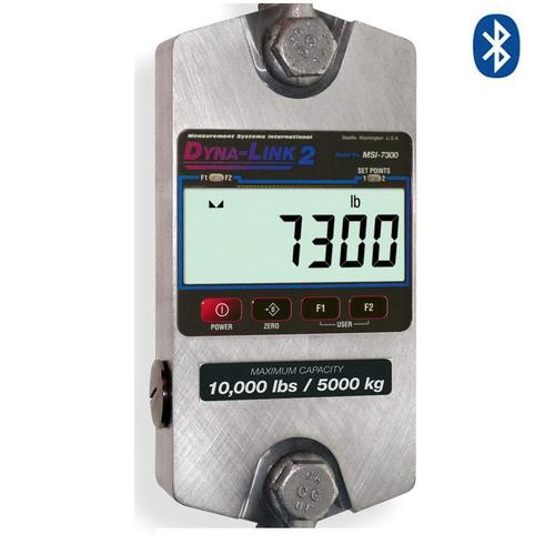 MSI 176822 MSI-7300 Dyna-Link 2 Dynamometer with Bluetooth (Only) Connectivity 120,000 x 50 lb