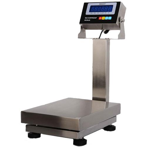 Zenith Scales Z-B600SS-1216 Stainless Steel Washdown Bench Scale  - 600 x 0.02lb
