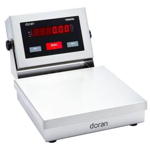 Doran 7005XL/88-ABR Legal For Trade  Bench Scale with 8 x 8 inch Base and Attachment Bracket 5 x 0.001 lb