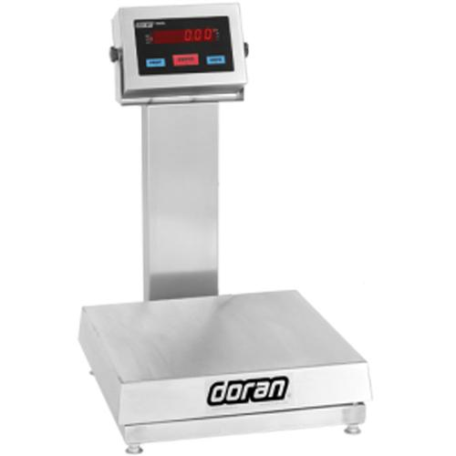 Doran 7100XL/18S-C20  Legal For Trade  Bench Scale with 18 x 18 inch Base  Bench Scale and 20 inch Column 100 X 0.02 lb
