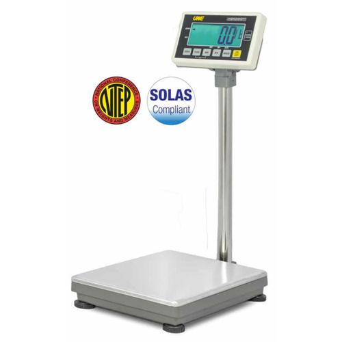 UWE UFM-B150 (3-UFM-S150-112)  Stainless Steel  13 x 17.7 Inch Legal for Trade Bench Scale 300 x 0.1 lb
