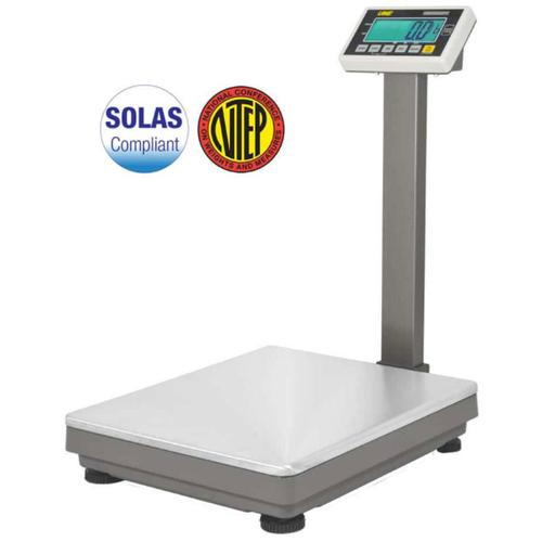 UWE UFM-L600 (3-UFM-S600-112)  Stainless Steel 19.7 x 23.6 inch Legal for Trade Bench Scale 1200 x 0.2 lb