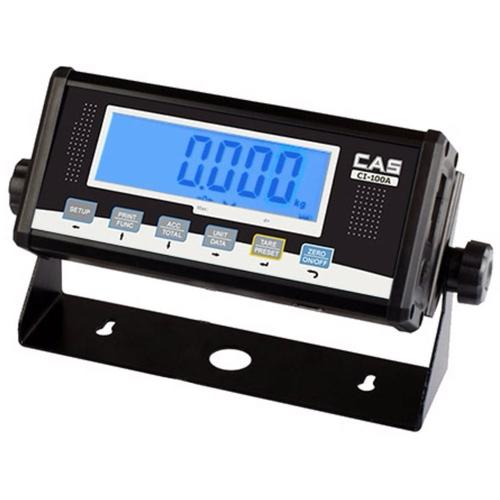 CAS CI-100A Indicator with 1 Inch LCD Display, Legal for Trade
