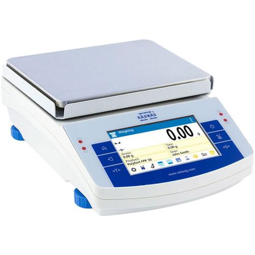 RADWAG PS 8100.X2 High Capacity Precision Balance 8100 g x 0.01 g