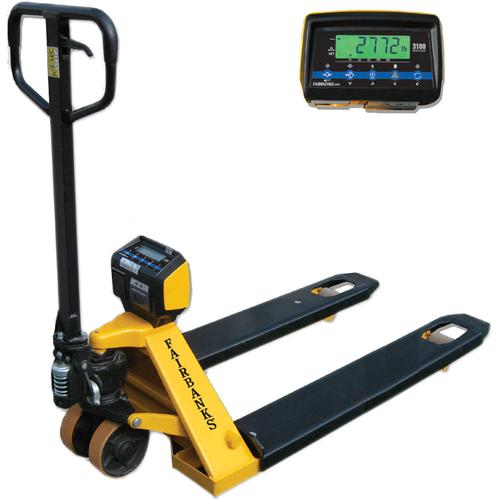 Fairbanks 35588 Pallet Weigh Plus Jack Scale Legal for Trade with Printer 3000 x 1 lb