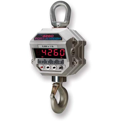 MSI 156016 Port-A-Weigh MSI-4260-IS Legal for Trade Intrinsically Safe Crane Scale 10,000 x 2.0 lb