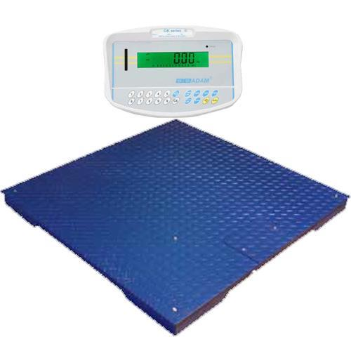 Adam Equipment PT-110-GK Floor Scale 39.4in x 39.4in (GK Indicator), 2500 x 0.5 lb