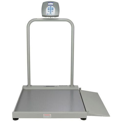 Health O Meter 2500KL Digital Wheelchair Scale, 1000 lx 0.2 lb