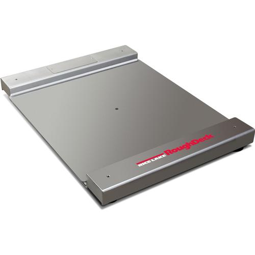 Rice Lake Roughdeck BDP 77967 Stainless Steel Drum Scale 30 in x 31 in Base Only 1000 lb