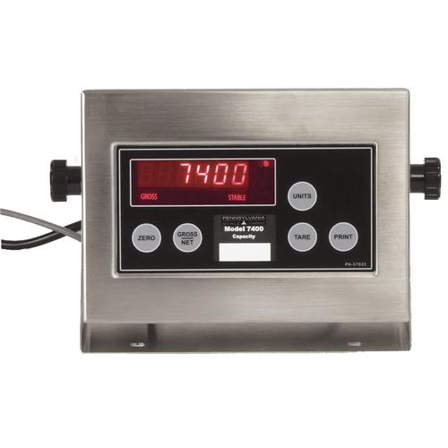 Pennsylvania Scale 7400+ Series Weighing & Batching Indicator