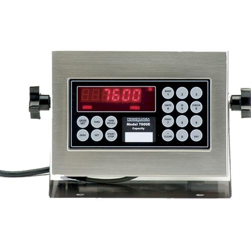 Pennsylvania Scale 7600E Series Truck Weighing & Batching Indicator