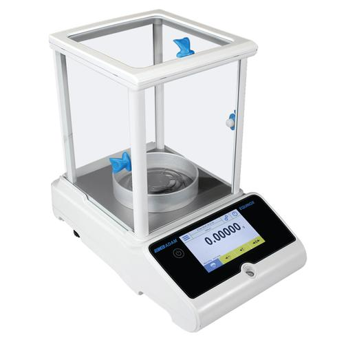 Adam Equipment EAB-125i -Equinox Analytical Balance with Internal Cal  -62g x 0.01mg and 120g x 0.1mg