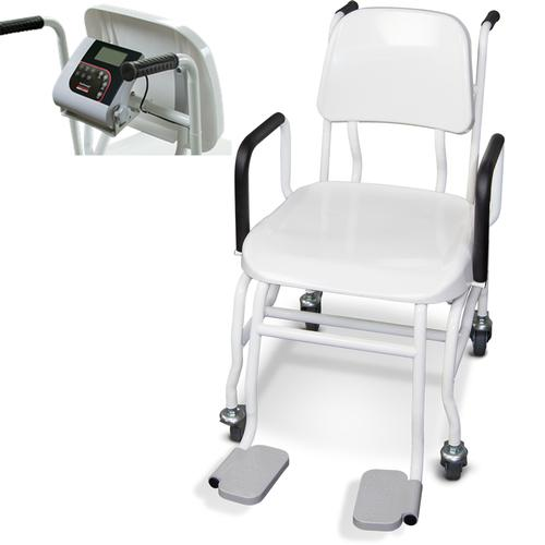 Rice Lake 560-10-1 Digital Physician Chair Scale, 660 x 0.2 lb