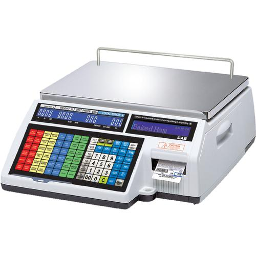 CAS CL5500B-60(NE) Bench Legal for Trade Label Printing Scale 30 x 0.01 lbs and 60 x 0.02 lbs