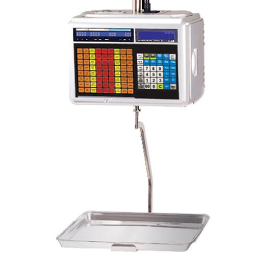 CAS CL5500H-60 Hanging Legal for Trade Label Printing Scale 30 x 0.01 lbs and 60 x 0.02 lbs