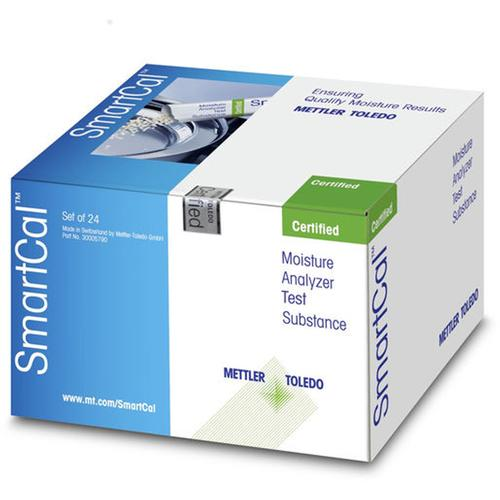 Mettler Toledo® 30005793 cSmartCal12 (certified version) Pack of 12 Test Substance