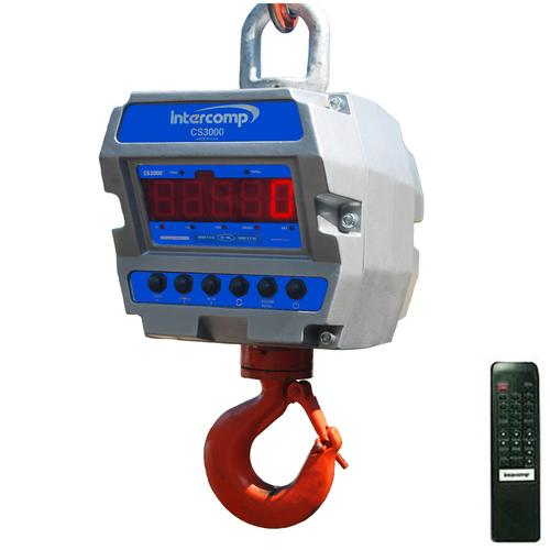 Intercomp CS3000 184762-RFX Legal for Trade Crane Scale with LED Display 30000 x 10 lb