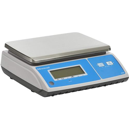 Salter Brecknell 430-30 Portion Control Scale with Stainless Steel Pan 30 x 0.002 lb or 15 x 0.001 kg
