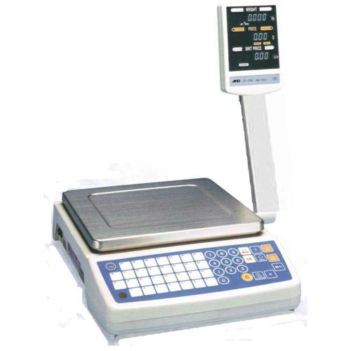 AND Weighing SF-6KC Price Computing Scale, 15 x 0.005 lb