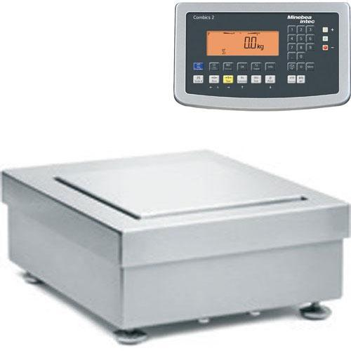 Minebea ISBBS-6-H-CAIS2-IP69k Combics 2 IS Scale 7.1 x 7.1 in Stainless Steel - 6.1 kg x 0.01 g