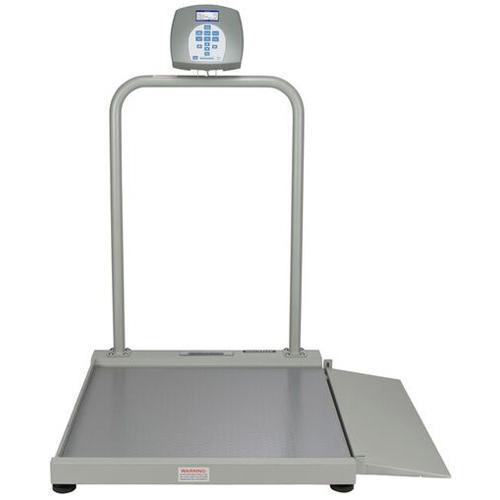 Health O Meter 2500KG-BT Digital Wheelchair Scale  with Built-in Pelstar Wireless Technology  KG Only 454 x 0.1 kg