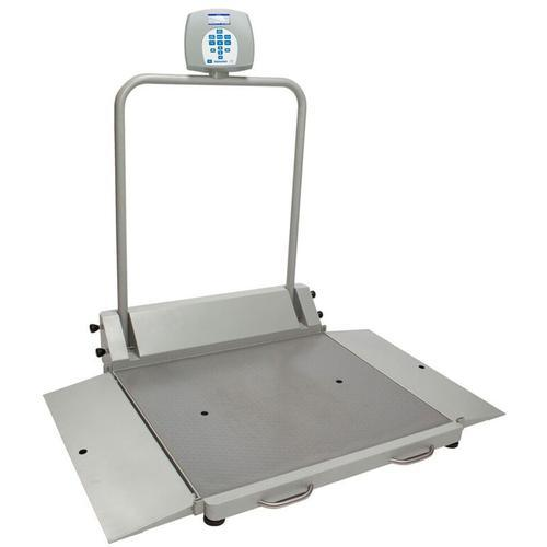 HealthOMeter 2610KL-BT Digital Wheelchair Dual Ramp Scale with Built-in Pelstar Wireless Technology 1000 x 0.2 lb