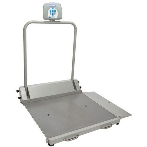 HealthOMeter 2600KG Digital Wheelchair Scale KG Only 454 x 0.1 kg