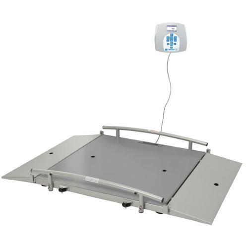 Health O Meter 2650KG-BT Portable  800 x 800 mm Wheelchair Scale with Built-in Pelstar Wireless Technology KG Only 454 x 0.1 kg