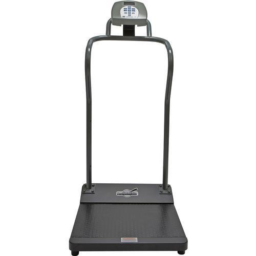Health-O-Meter 3001KL-AM-BT Antimicrobial Digital Platform Scale with Built-in Pelstar Wireless Technology  KG Only  454 x 0.1 kg