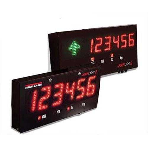 MSI 178004 4in LASERLIGHT2 RF Six-Digit Scoreboard with ScaleCore RF Kit and Tilt Mounting Bracket