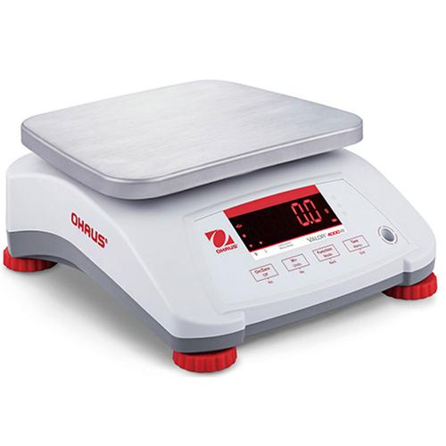Ohaus 30035436 Valor 4000 Compact Bench Scale 15 x 0.002 lb Legal for Trade 15 x 0.005 lb