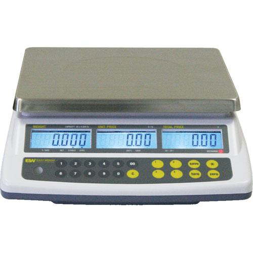 Easy Weigh CK-60 Price Computing Scale, 60 lb x 0.01 lb