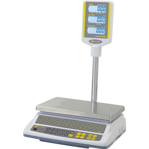 Easy Weigh CK-60-POLE Price Computing Scale with Column, 60 lb x 0.01 lb
