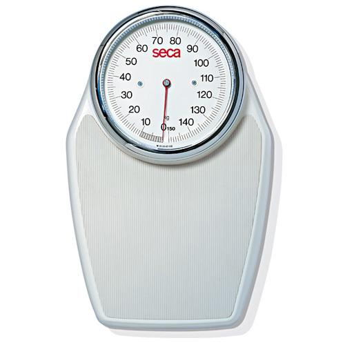 Seca 760 Dial Bathroom Scale, White, 320 x 1 lb