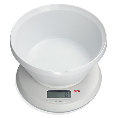 Seca 852 Culina Diet Scale with Bowl, 6.6 lb x 0.04 oz