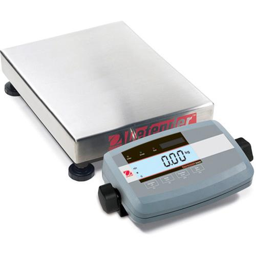Ohaus D51P60HR5 Defender 5000 Low Profile Legal for Trade Scales Rectangular, 150lb X 0.02lb