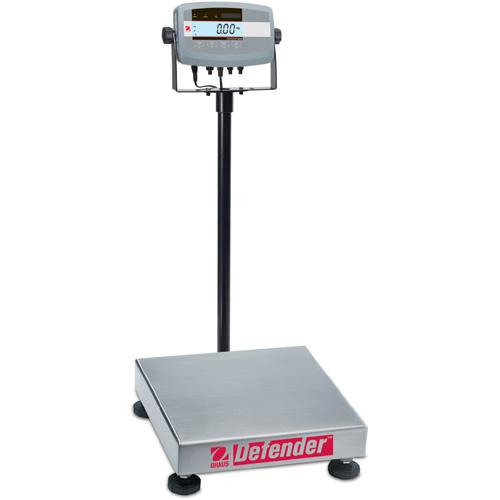 Ohaus D51P250QX2 Defender 5000 Bench Scales Square Legal for Trade , 500 lb x 0.05 lb