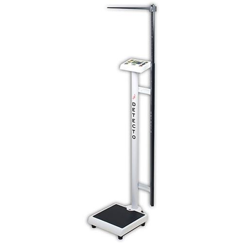 Detecto PD300MHR Comfort Height Digital physician Scale With Mechanical Height Rod