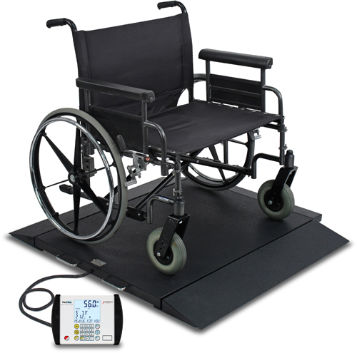Detecto BRW-1000 Portable Bariatric Wheelchair Scale