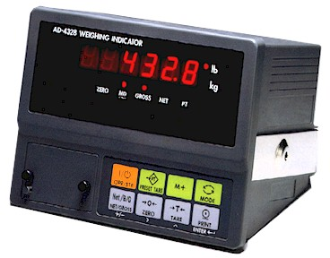 AND AD-4328 Digital Scale Indicators