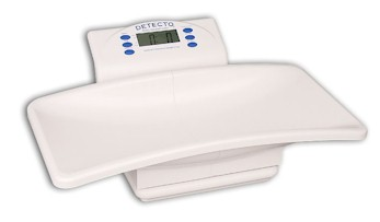 The Detecto 8440 digital baby scale