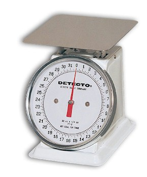 Detecto PT-Series Mechanical Dial Toploading Scales