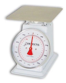 Detecto TKP-Series Large Toploading Mechanical Dial Scales